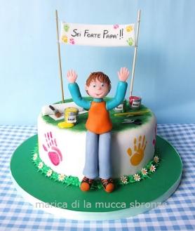 livello intermedio - torta per la festa del papà